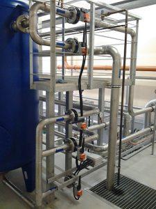 ūdens atdzelžošanas iekārtas