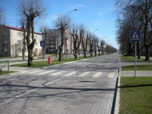 Sarkanmuižas dambis posmā no Brīvības ielas līdz Vidumgrāvim, Ventspilī