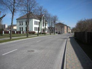 Tārgales ielas rekonstrukcija.